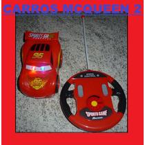 Carrinho Controle Remoto Carro Relâmpago Mcqueen Carros 2 !!