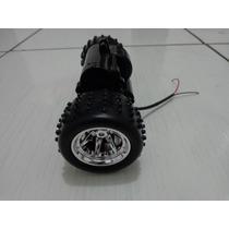 Caixa De Engrenagem Com Motor E As 2 Rodas Carrinho Extreme