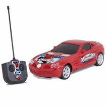 Carro De Controle Remoto Homem Aranha Vermelho 3186 - Mimo