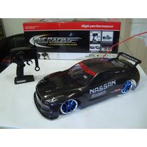 Automodelo Elétrico Nissan Gtr Carbon Drift 4x4 1/10