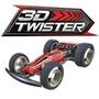 Carrinho Controle Remoto 3d Twister Conj. Acrobacias Dtc