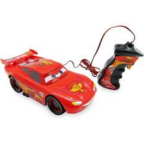 Carro Controle Remoto Com Fio Mcqueen Carros Toyng