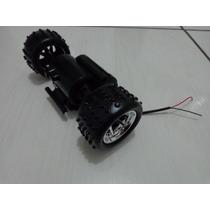 Caixa Engrenagem Com Motor E 2 Rodas Carrinho Extreme Usado