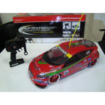 Automodelo Elétrico Honda Crz Drift 4x4 Escala 1/10