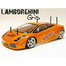 Carro Himoto Nascada Lamborguini 2.4ghz Completo Pneu Grip