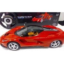 Ferrari Carrinho Controle Remoto 34cm 1:12 Recarregável