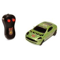 Carrinho Power Xr-s - Carro R/c Verde - Dtc