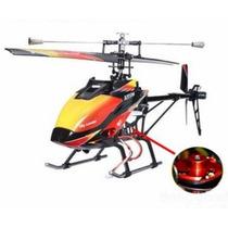 Helicóptero V913 Brushless Wltoys 4ch 70cm Controle 2.4ghz
