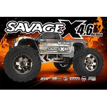 Hpi Savage X 4.6 Nitro 1/8 2.4ghz Rtr 109083