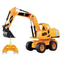 Escavadeira Brinquedo Controle Remoto Construforce