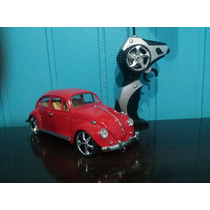 Fusca Controle Remoto Metal Vw Herbie 1967 1/18 Tuning