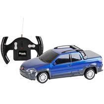 Carrinho Controle Remoto Fiat Strada 7 Funções 1/24