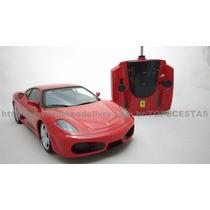 Carro Carrinho Controle Remoto Ferrari F430 Dtc 1/16 Licenc.
