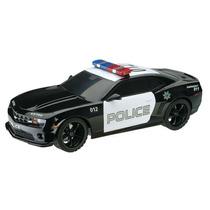 Carrinho De Controle Remoto Xq Camaro Police Car Brinquedo
