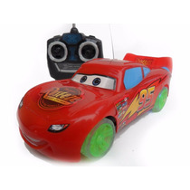 Mcqueen Disney Carros Carrinho Controle Remoto 7 Funções