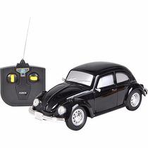 Carro De Controle Remoto Volkswagen Fusca Preto 1:24 Cks