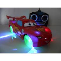 Carrinho De Controle Remoto Mcqueen Disney Carros 4 Canais