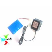 Bateria 6v 500mah Carregador Carrinho Candide - Aerovendas