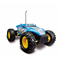 Carro Controle Remoto Rock Crawler Extreme Azul Maisto