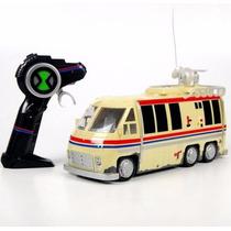 Carro De Controle Remoto - Ônibus Trailer Do Vô Max Ben10