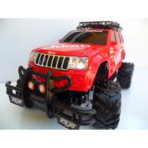 Jeep Raly Carrinho Controle Remoto, Bateria Recarregável