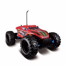Carro Controle Remoto Rock Crawler Extreme Vermelho Maisto