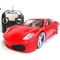 Carrinho Carro De Controle Remoto Ferrari