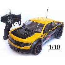Caminhonete Carro Carrinho De Controle Remoto 1/10 44cm