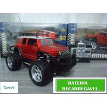 Carrinho Controle Remoto Bateria Recarregavel Hummer