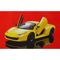 Carrinho Controle Remoto Ferrari 458 - Escala 1:14