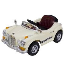 Mini Carro Eletrico Infantil Estilo Mercedez Bege/controle
