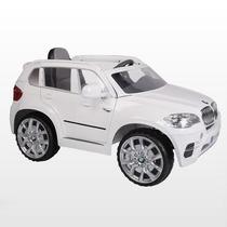 Mini Bmw Elétrico Infantil X5 Branco - Jessica Brinquedos
