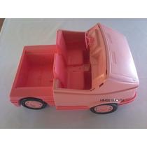 Carro Trailer Da Barbie Antigo Anos 80
