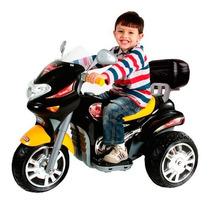 Moto Elétrica Infantil 6v Sprint Preta Jessica Brinquedos