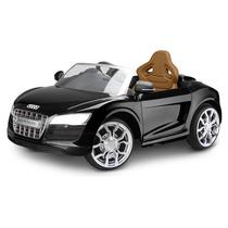 Mini Veículo Elétrico Audi R8 Preto Jessica Brinquedos