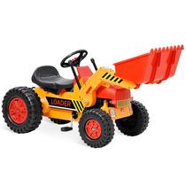 Mini Veiculo Trator Escavadeira A Pedal - Bandeirante