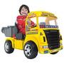 Caminhão Elétrico Magic Toys Big Truck 6v - Amarelo