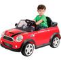 Carro Elétrico Infantil Mini Cooper Ver Jessica Brinquedos