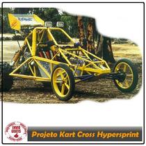 Projeto Kart Cross - Gaiola - Buggy - Hypersprint