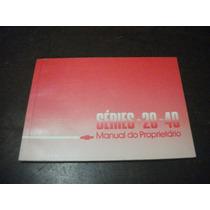 Manual D20 D40 A20 A10 C10 D10 C20 89 90 1990 1989