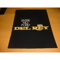 Folder Raro Ford Del Rey 82 1982 83 1983 Lançamento