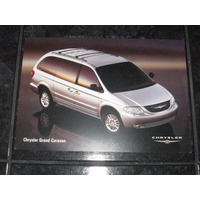 Folder / Catálogo / Pôster Chrysler Grand Caravan 2002