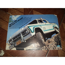 Gm/chevrolet A10 D10 4x4 1984 Catalogo