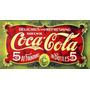 2690- Placa Decorativa Refrigerante Bebida Coca-cola