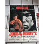 Cartaz Jogo Da Morte 2 Bruce Lee - Game Of Death 2 + 3 Lobby