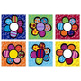 Poster (122 X 91 Cm) Flower Power Multi Romero Britto