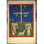 Poster (46 X 61 Cm) Leaf From A Beatus Manuscript:the Lamb