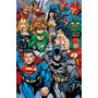Dc Comic Poster - Comics Collage Maxi 61x 91.5cm Super