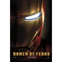 Poster A3 Do Filme Homem De Ferro 1 - Ver Teaser
