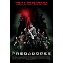 Poster A3 Do Filme Predadores (versão Lançamento)